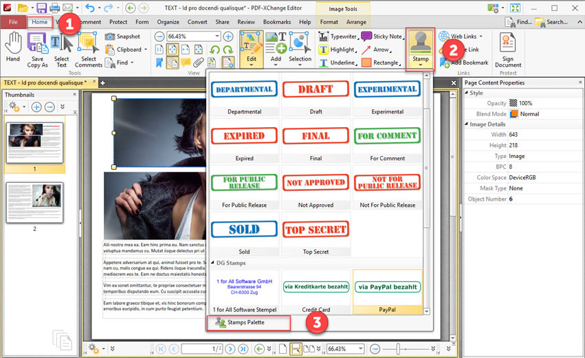 Pdf Xchange Editor Tutorial How To Create Your Own Stamp